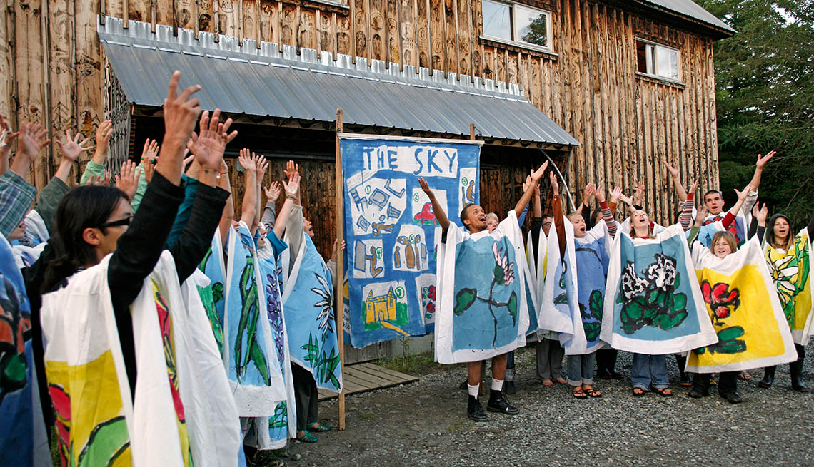 item 2 of Gallery image - Bread And Puppet Performance In Vermont, Unique Fall Vacation Destinations