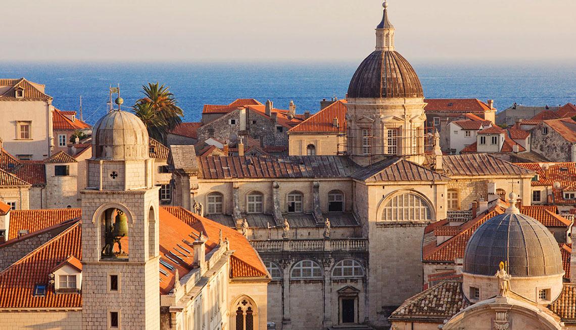 Aerial View Of The Croatia And Ocean In Background, Best Honeymoon Destinations