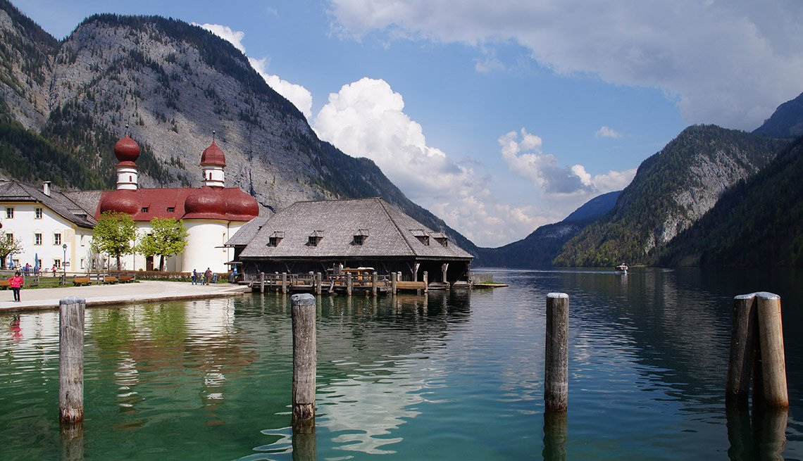 The Lakes And Surrounding Mountains Of Shonau am Konigsee In Germany, Under The Radar Destinations