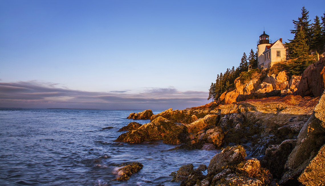 item 2 of Gallery image - The Rocky Coastline Of Acadia National Park In Maine, Great Fall Vacations