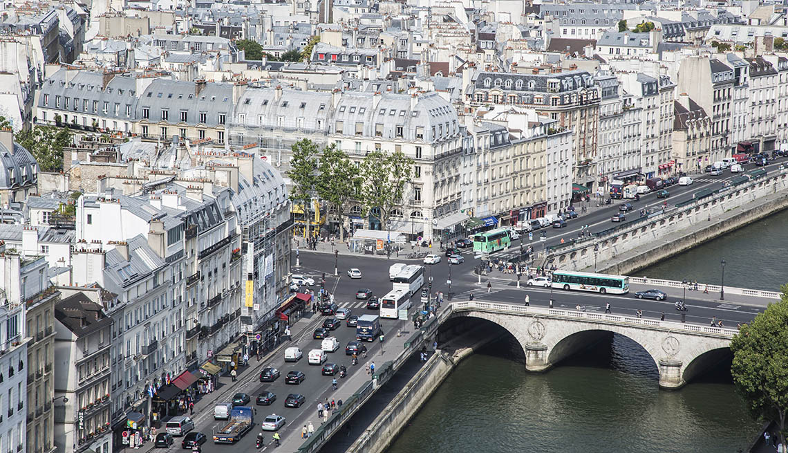 Aerial View Of Paris And Pont-Saint Michel Over The River Seine, How To Choose A Guided Tour