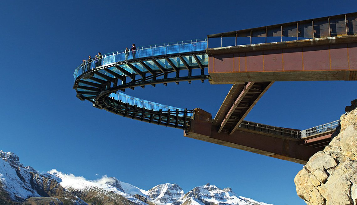 The Glacier Skywalk In Alberta Canada, 10 Summer Destinations