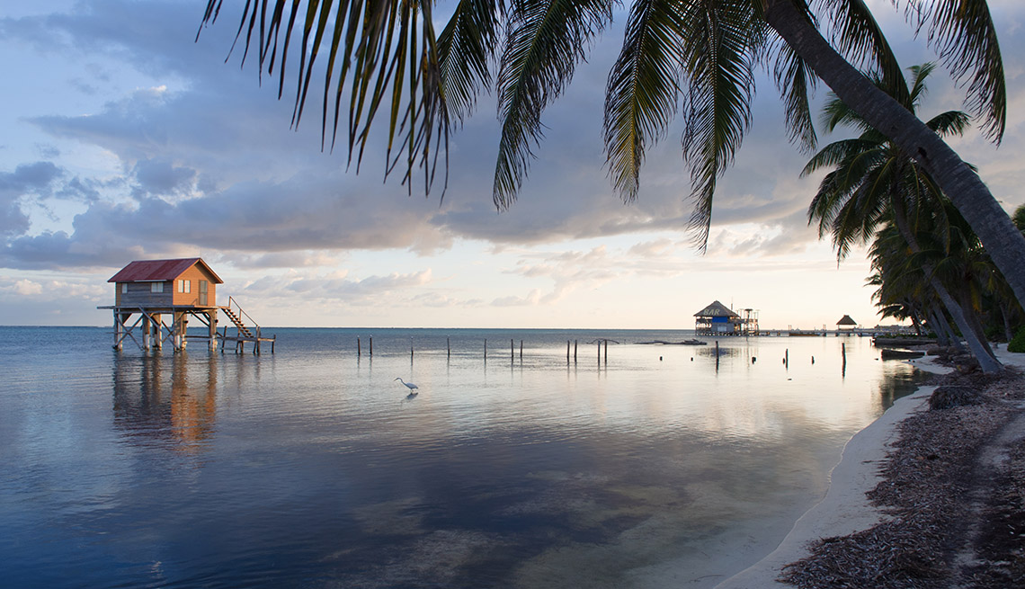 A Hut Over The Water In Ambergris Caye In Belize, World's Best Beaches