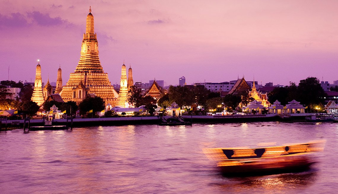 Sunset In The Bay In Bangkok, New Year's Eve Destinations