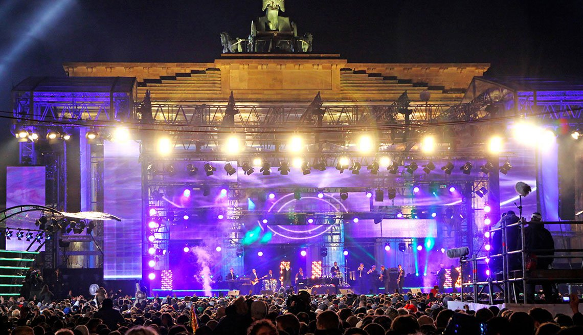 A Concert At Night In Berlin Germany, New Year's Eve Destinations