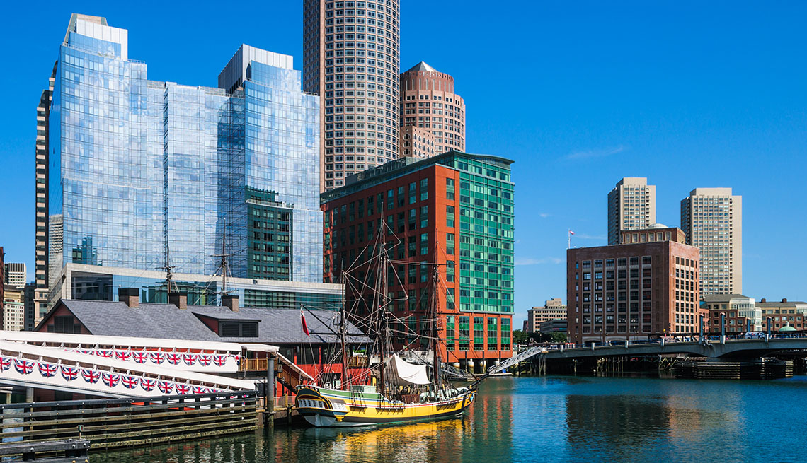 Boston Massachusetts Harbor, Summer Getaways Boston