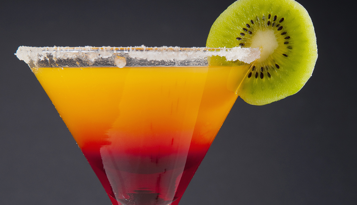 Close Up Of A Cocktail, Foods To Avoid Before Flying