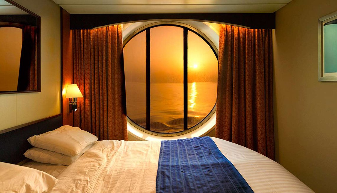 A Nice Cruise Cabin With A Beautiful View, Cruise Ship Myths