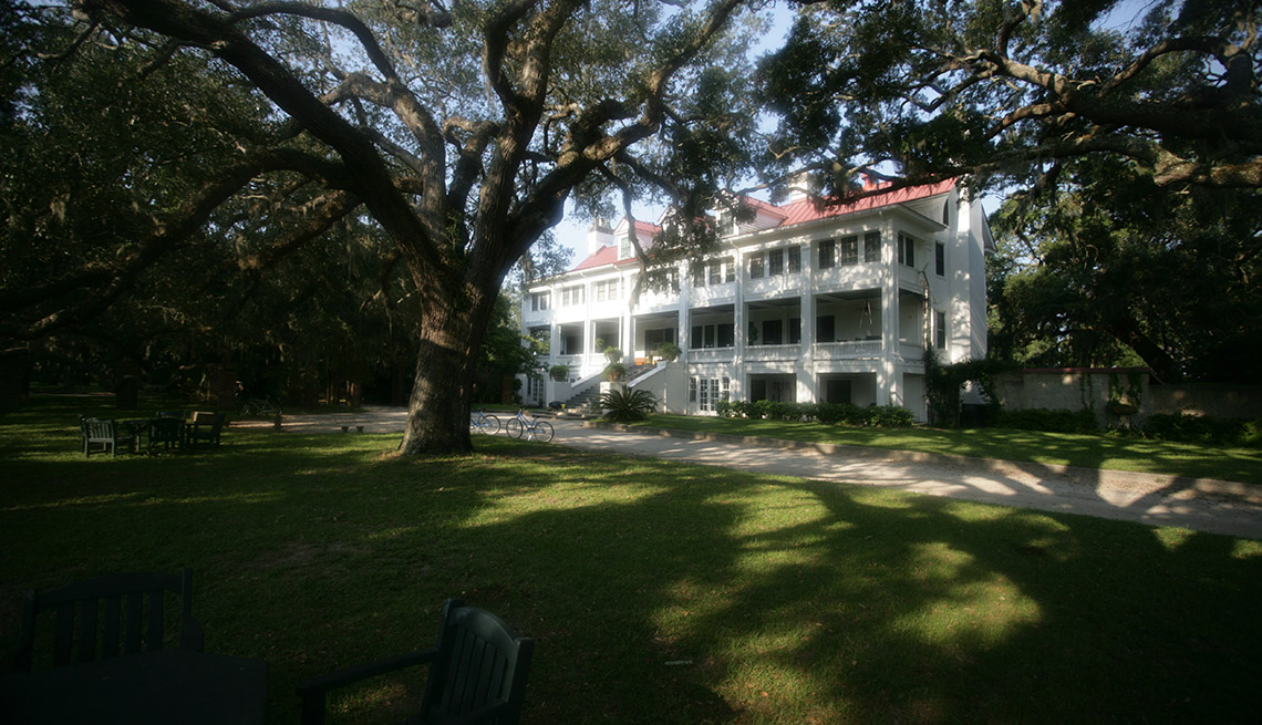 The Greyfields Guest House In Cumberland Island Georgia, Second Honeymoon Destinations