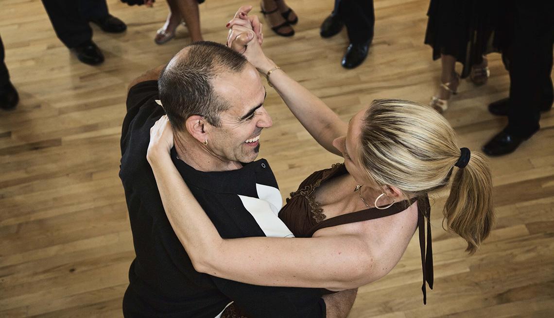 Couple Dancing, Unique Vacation Ideas
