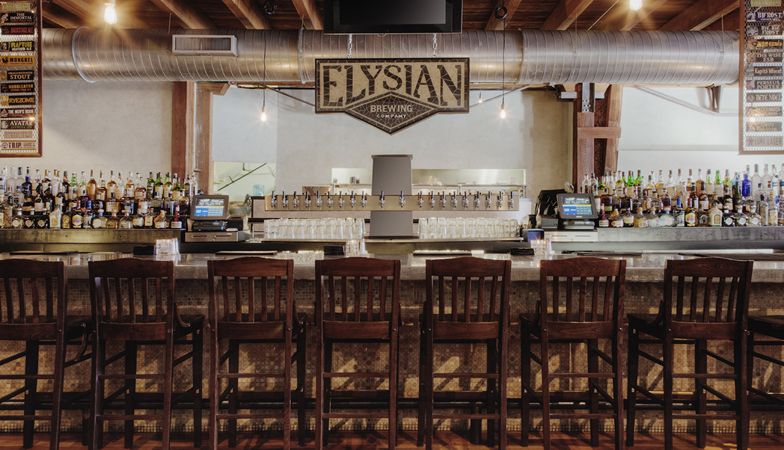 The Bar At Elysian In Seattle Washington, Best Cities For Beer Lovers