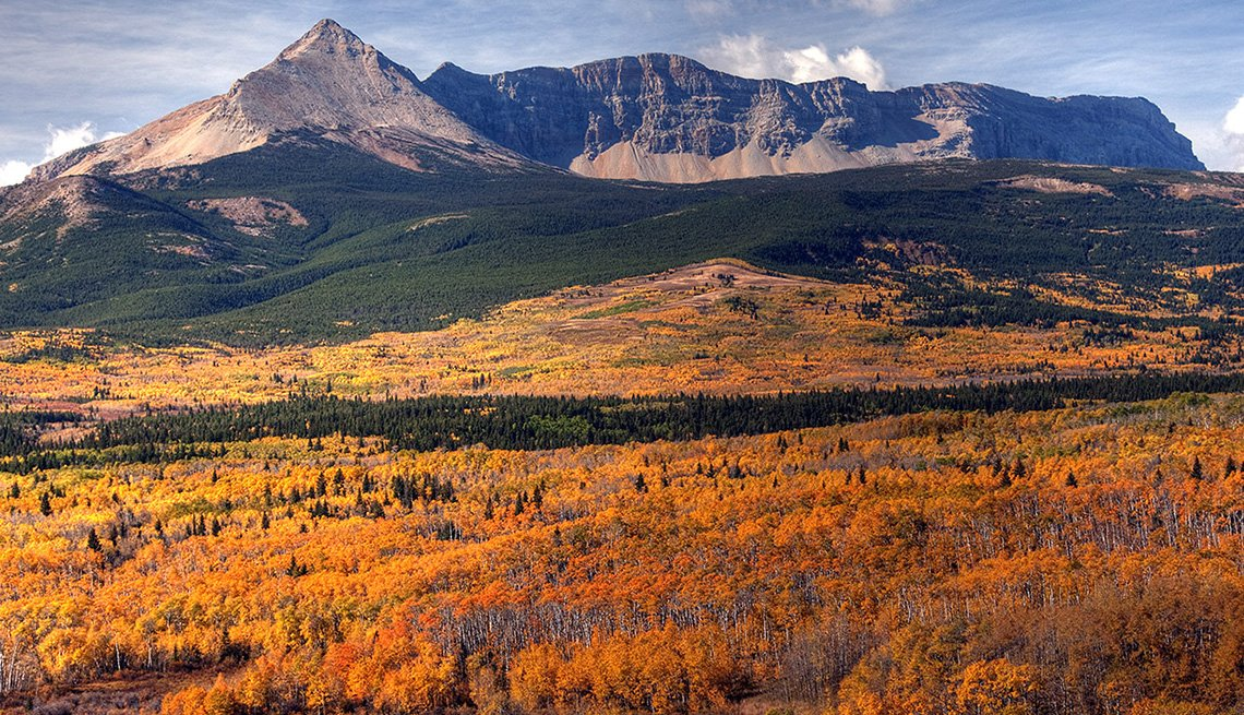 Glacier National Park In Montana, Best Fall Foliage Spots In America