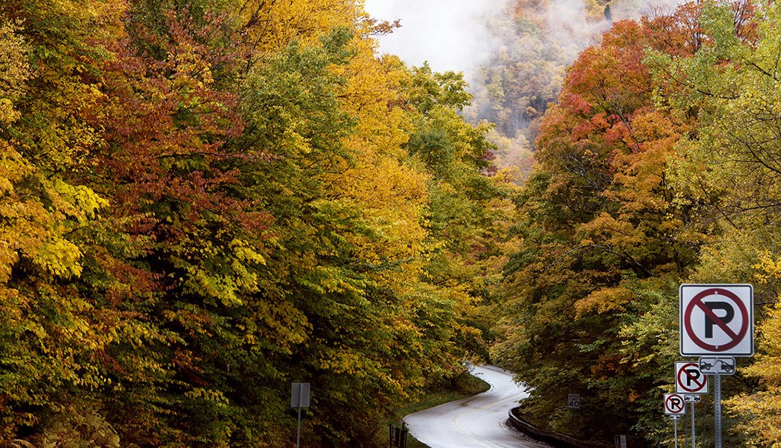 Green Mountain Byway In Vermont, Best Fall Foliage Spots In America