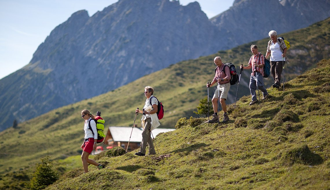 A Group Of Hikers On A Mountain, How To Choose A Guided Tour