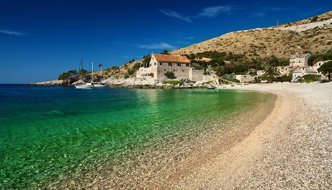 The Beach At Hvar In Croatia, World's Best Beaches