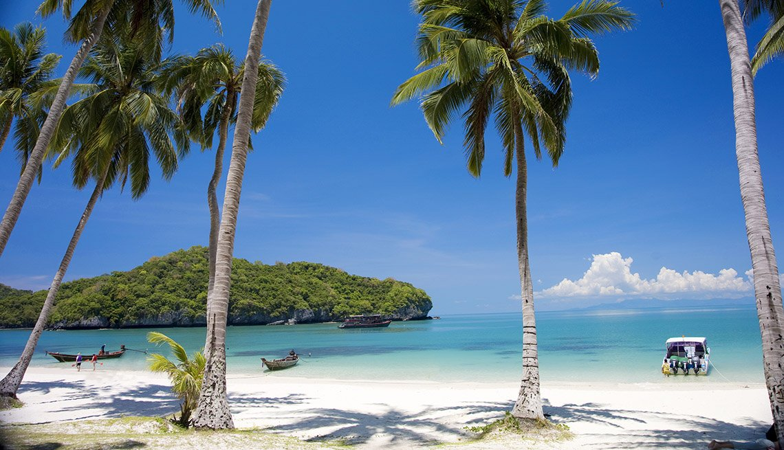 Pristine White Sand Beaches Palm Trees And Crystal Clear Waters Of Koh Samui In Thailand, World's Best Beaches