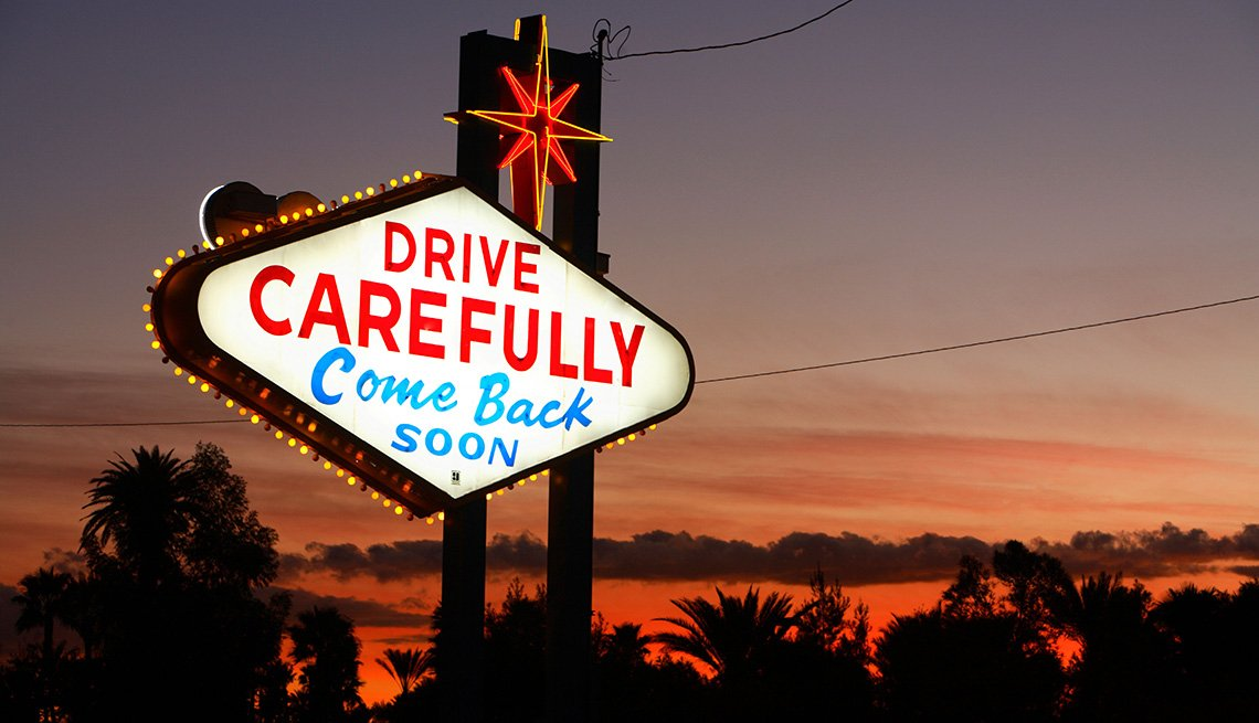 Drive Carefully And Come Back Soon In Las Vegas Nevada, Gambling Trip Tips