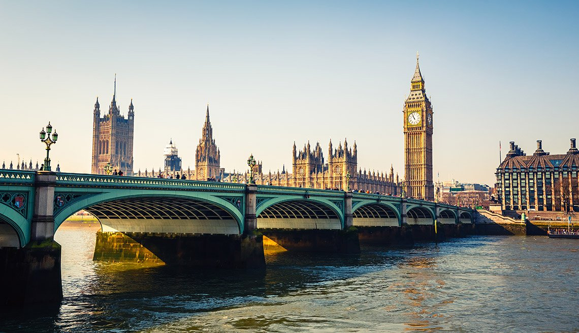 item 3 of Gallery image - View Of Big Ben And Houses Of Parliament In London, United Kingdom, Great Fall Vacations