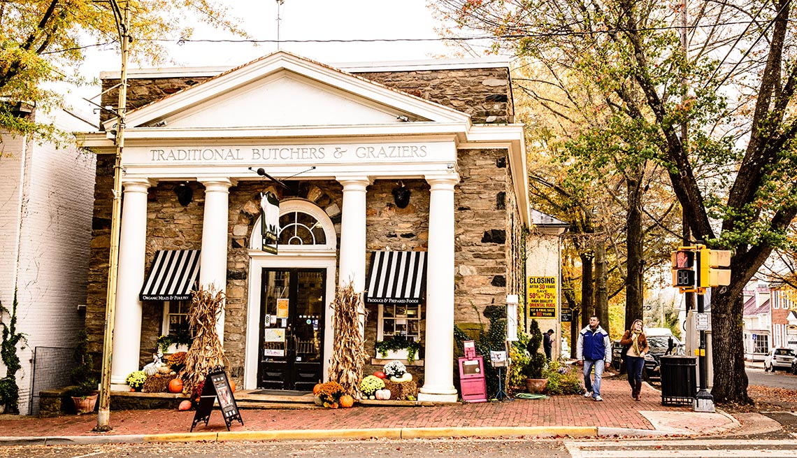 item 11 of Gallery image - View Of Middleburg Virginia, Great Fall Vacations