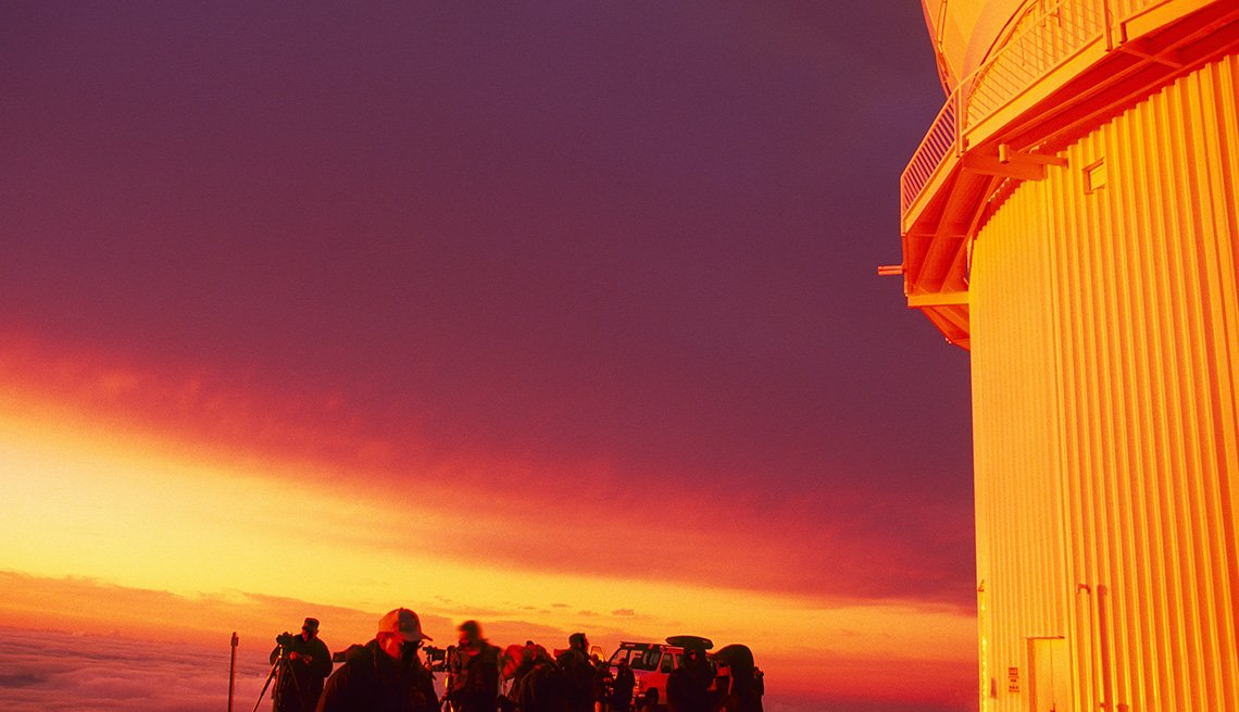 Sunset Over Mauna Kea In Hawaii, Best Sunsets