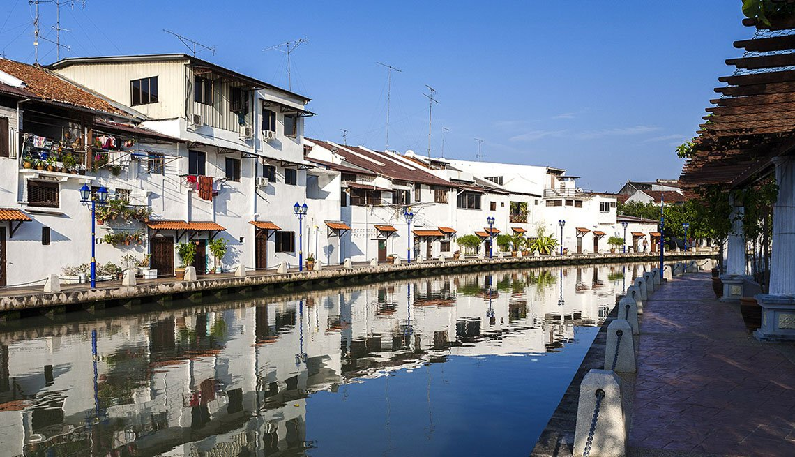Houses By The River In Melaka, Malaysia, 10 Summer Destinations