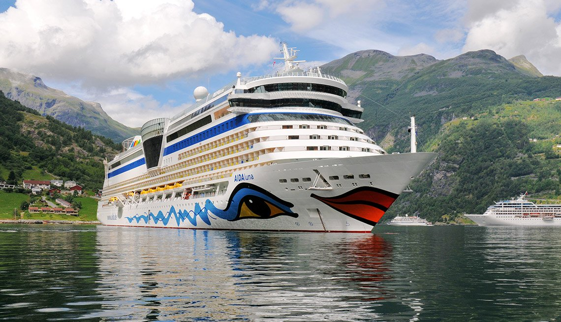 Multiple Cruise Ships Docked In A Bay, Cruise Ship Guide And Tips