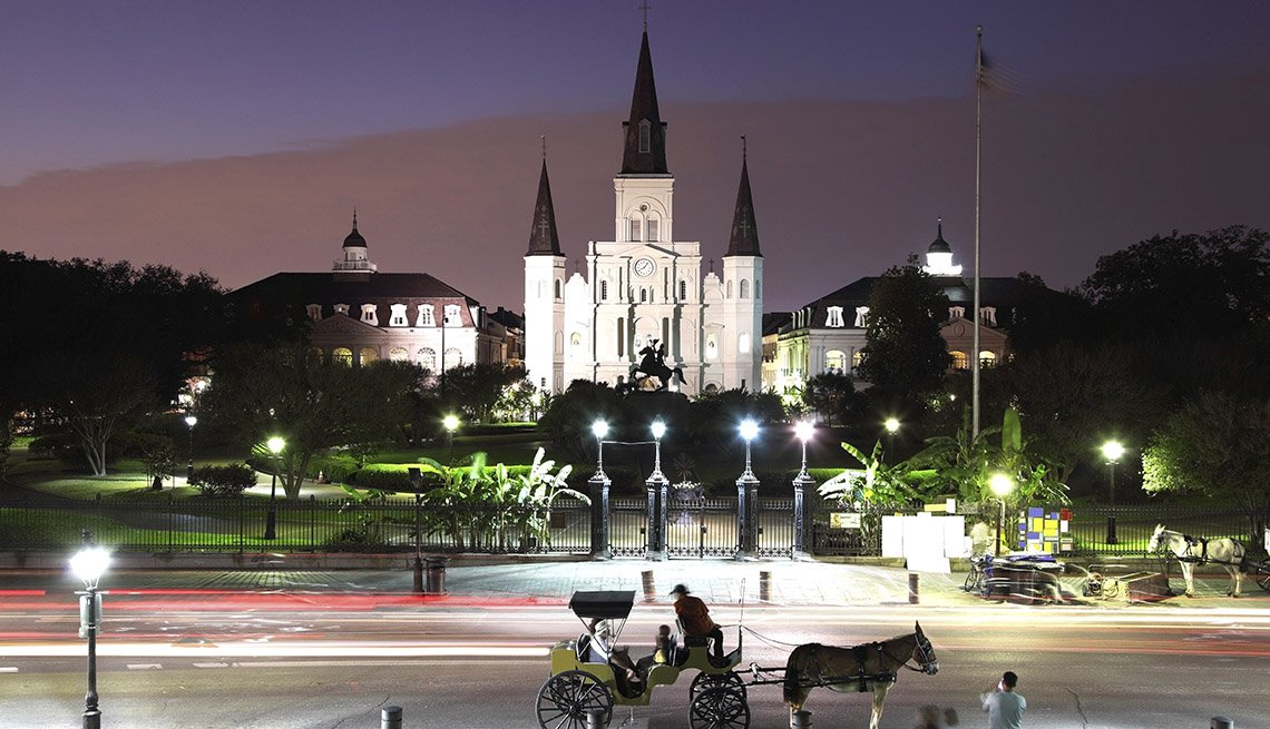New Orleans At Night, Thanksgiving Day Destinations