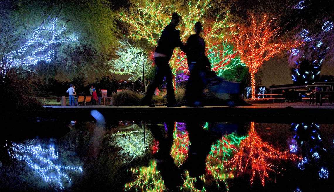 Zoolights In Phoenix Arizona, Thanksgiving Day Destinations