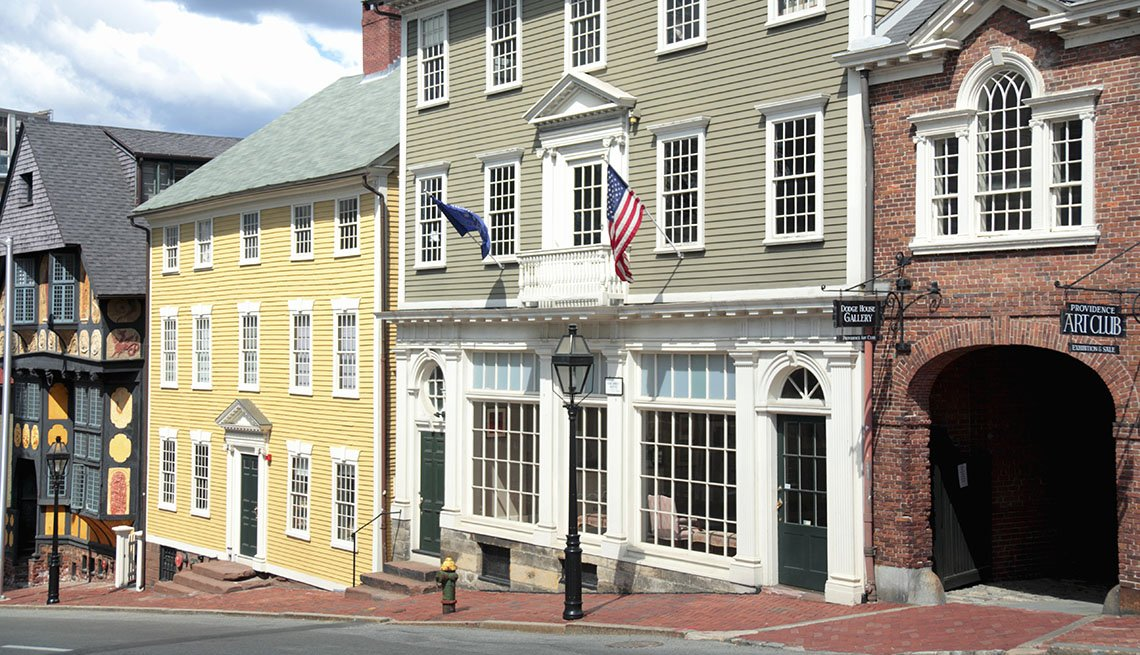 Downtown Providence Rhode Island, Girlfriend Getaways