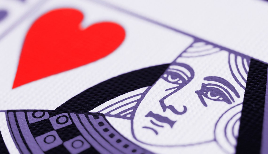 Close Up Of A Queen Of Hearts Card, Gambling Trip Tips