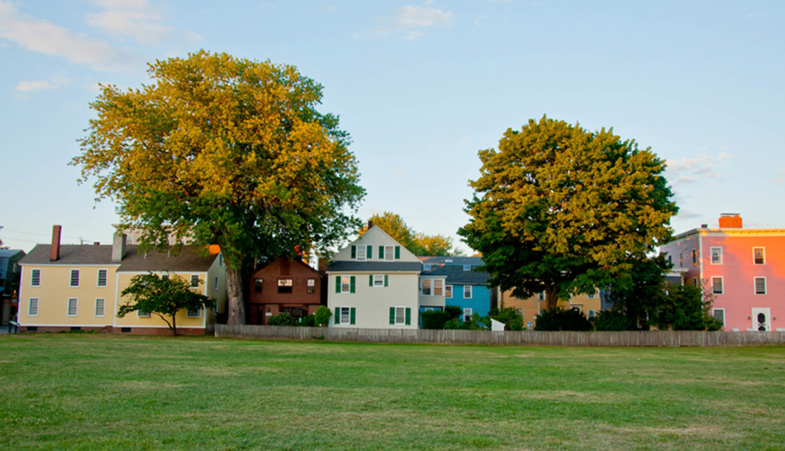 item 9 of Gallery image - View Of Buildings In Salem Massachusetts, Fall Vacations