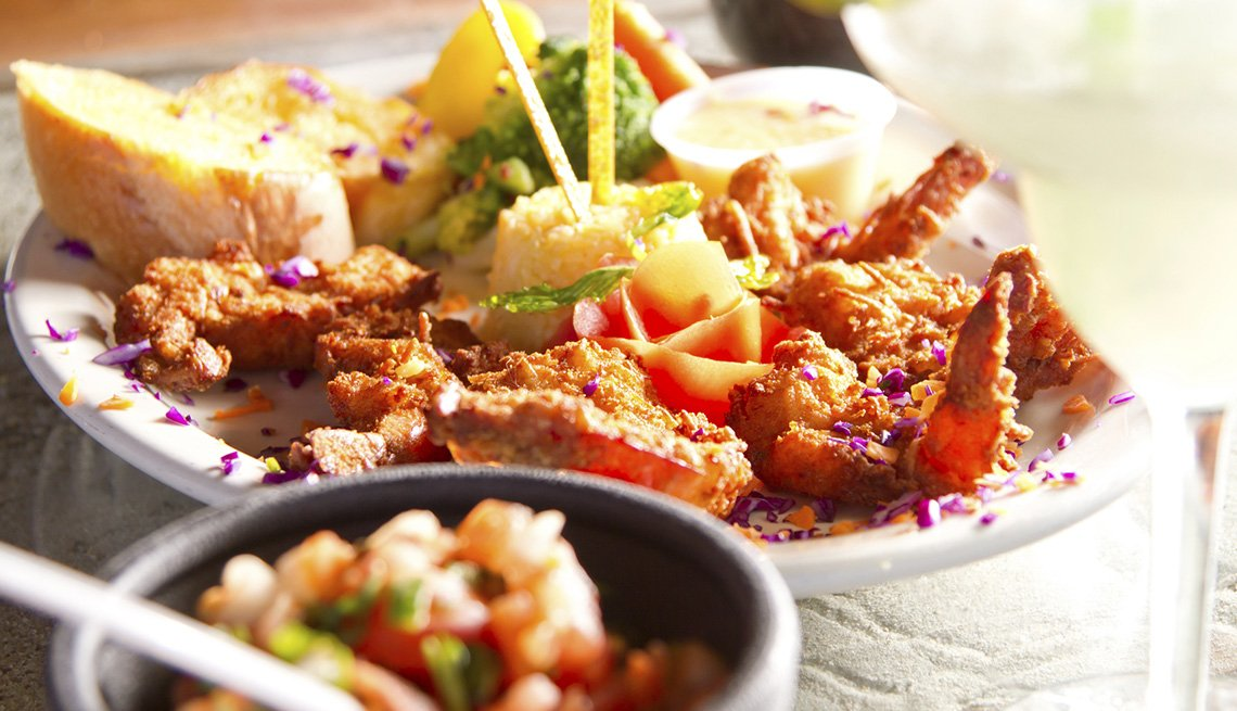 Close Up Of A Seafood Platter, AARP Traveler's Tips