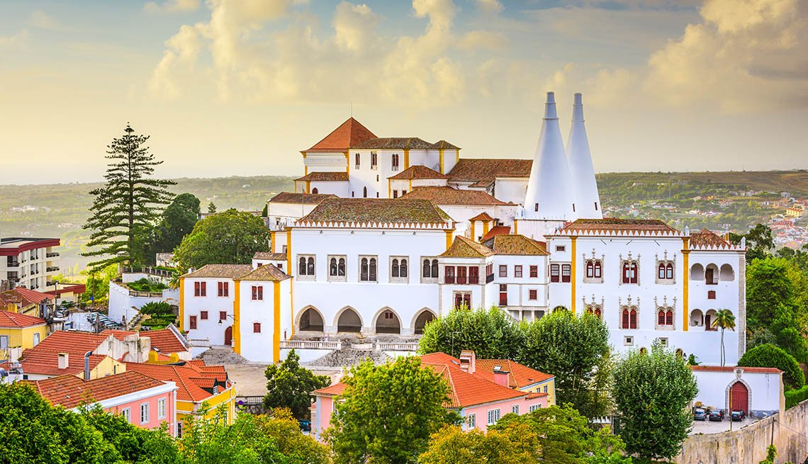 item 9 of Gallery image - Aerial View Of Sintra In Portugal, Great Fall Vacations