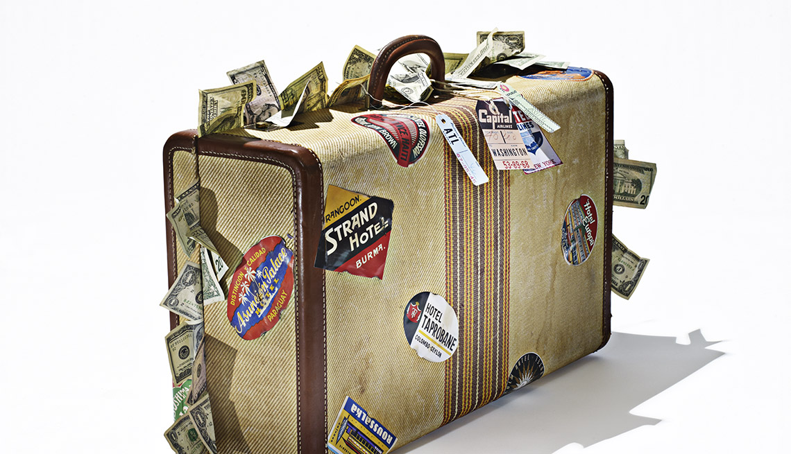 Suitcase Filled With Cash When Travel Insurance Pays Off