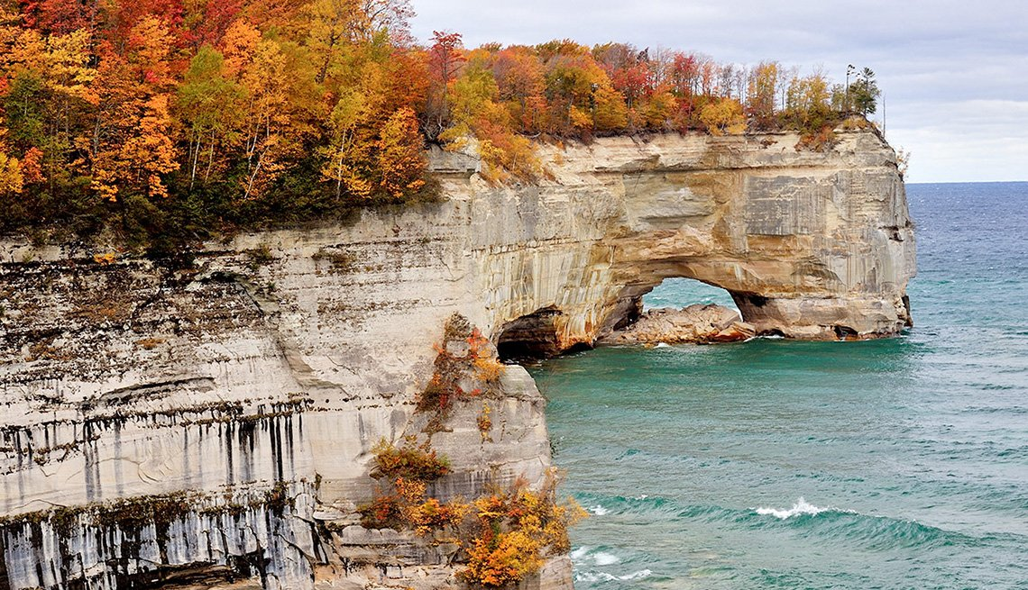 Upper Peninsula In Michigan In Fall, Best Fall Foliage Spots In America