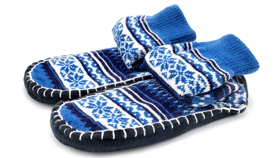 Blue And White Travel Socks, Gifts For Travelers