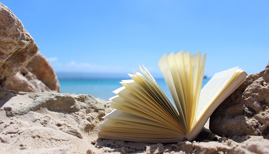 An Open Book On The Beach, Gifts For Travelers