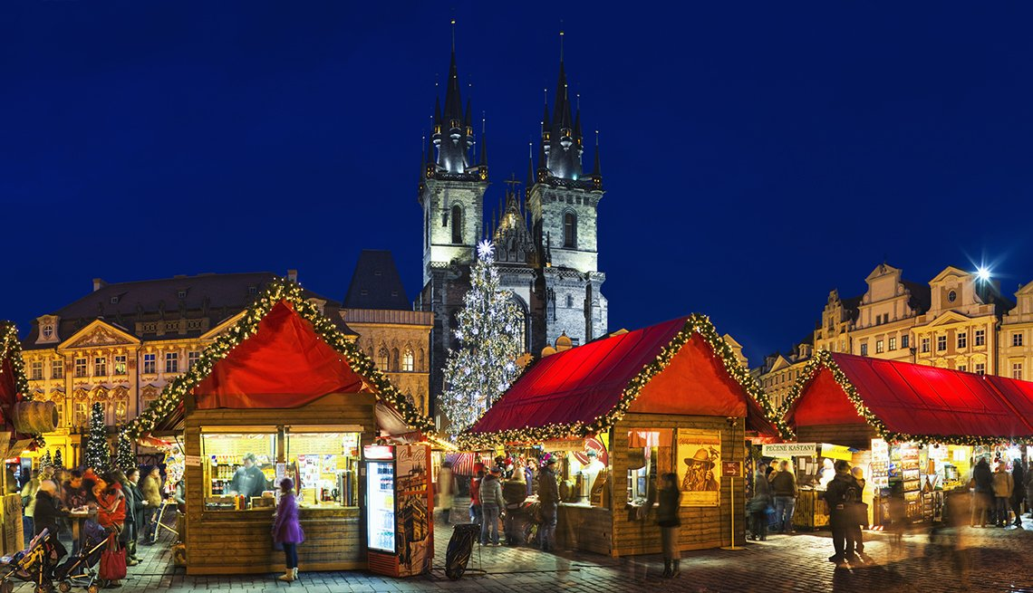 European Christmas Markets At Night, Theme Cruises