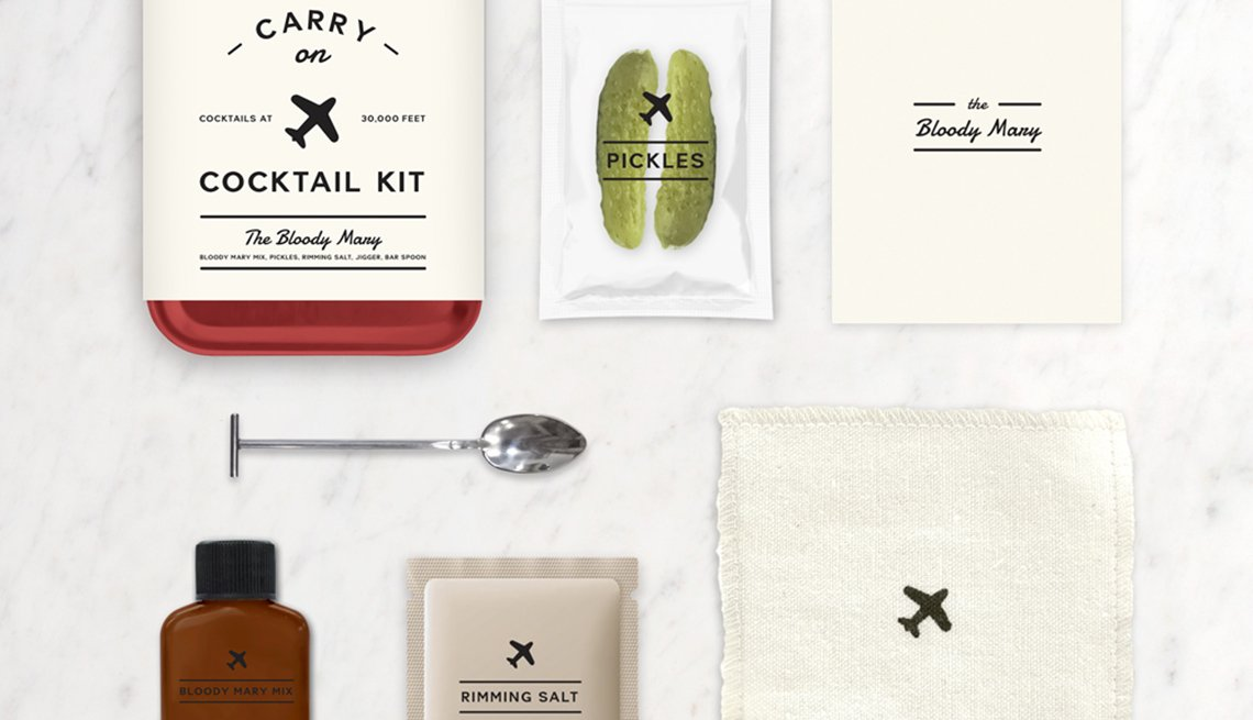 Cocktail Travel Kit, Gifts For Travelers