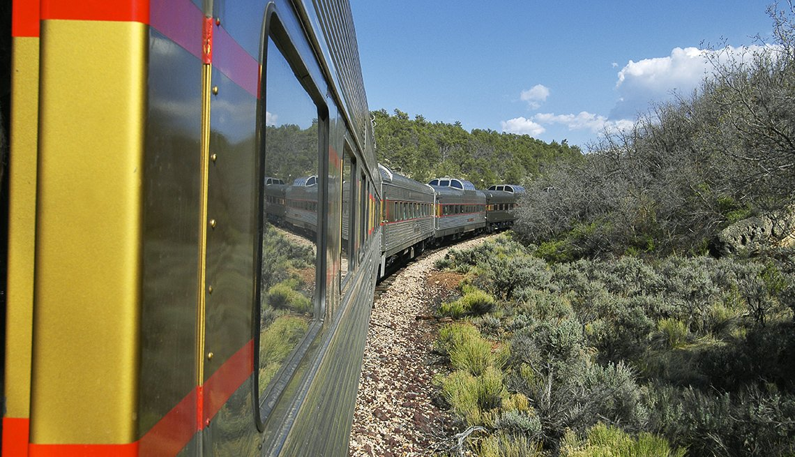 The Grand Canyon Train Through Arizona, Scenic Railways