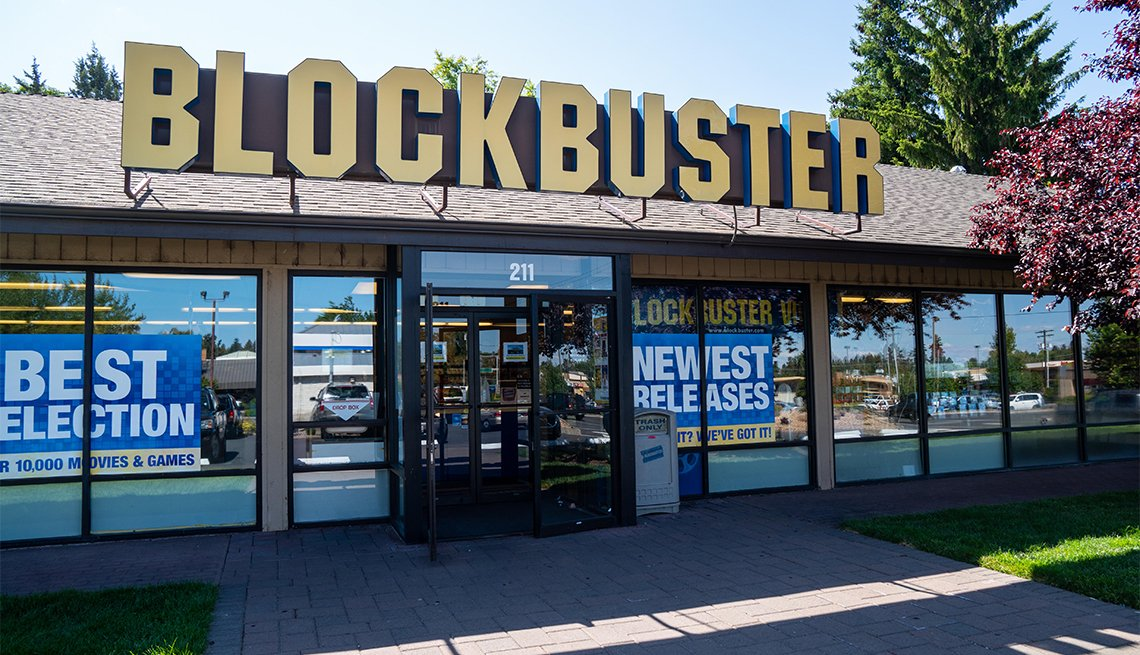 last Blockbuster in Bend, Oregon