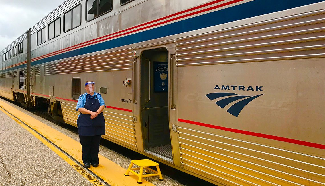 Amtrak Room Attendant