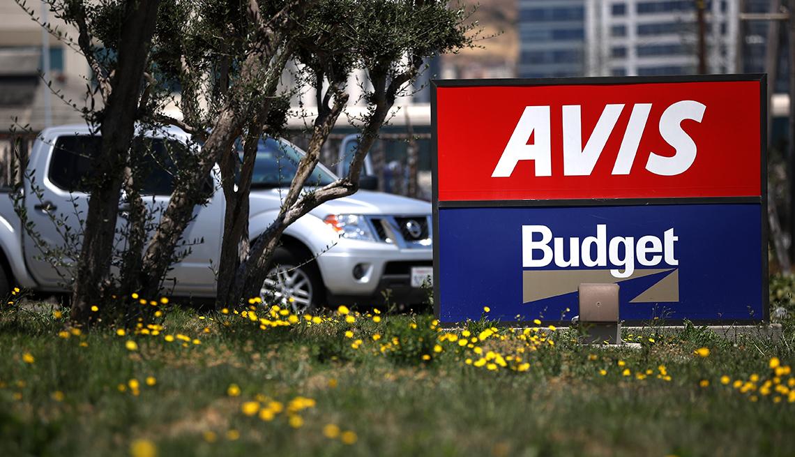 Avis/Budget rental car office