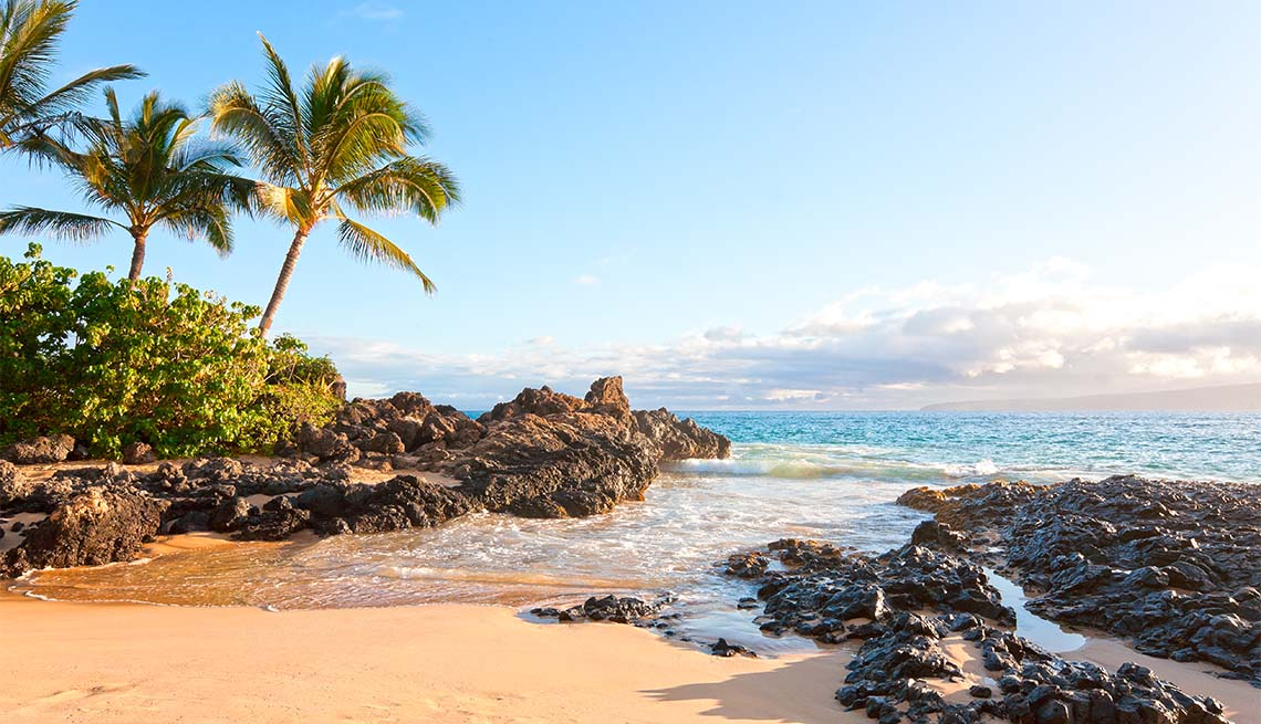 Playa en Makena, Maui, Hawái
