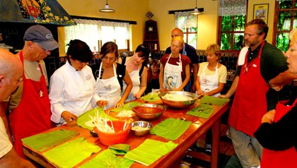 Clase de cocina mexicana