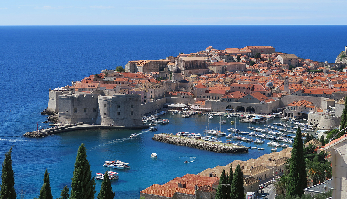 item 6 of Gallery image - aerial view of Dubrovnik