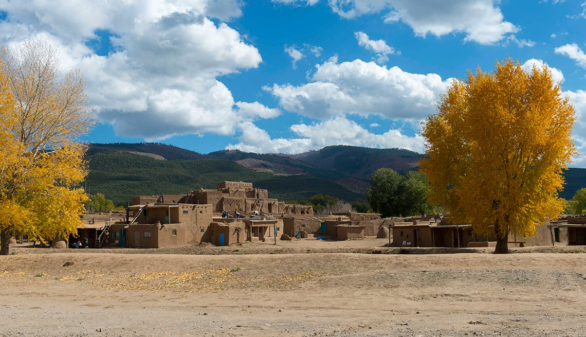 Taos, NM during autumn