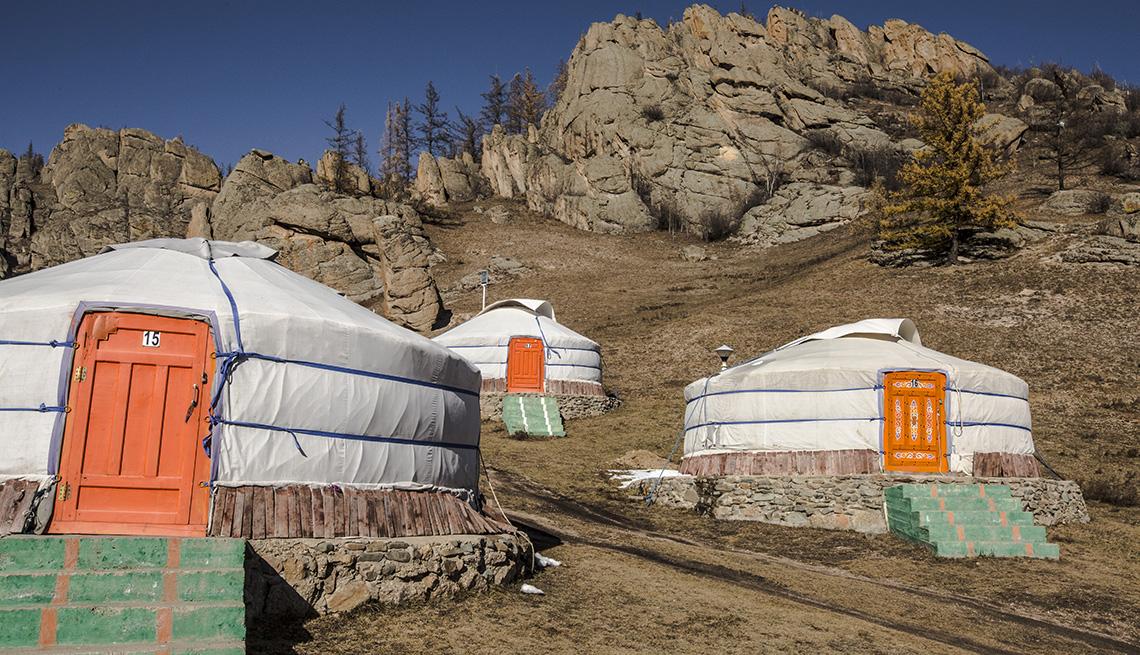 Parque Nacional Yurt en Mongolia