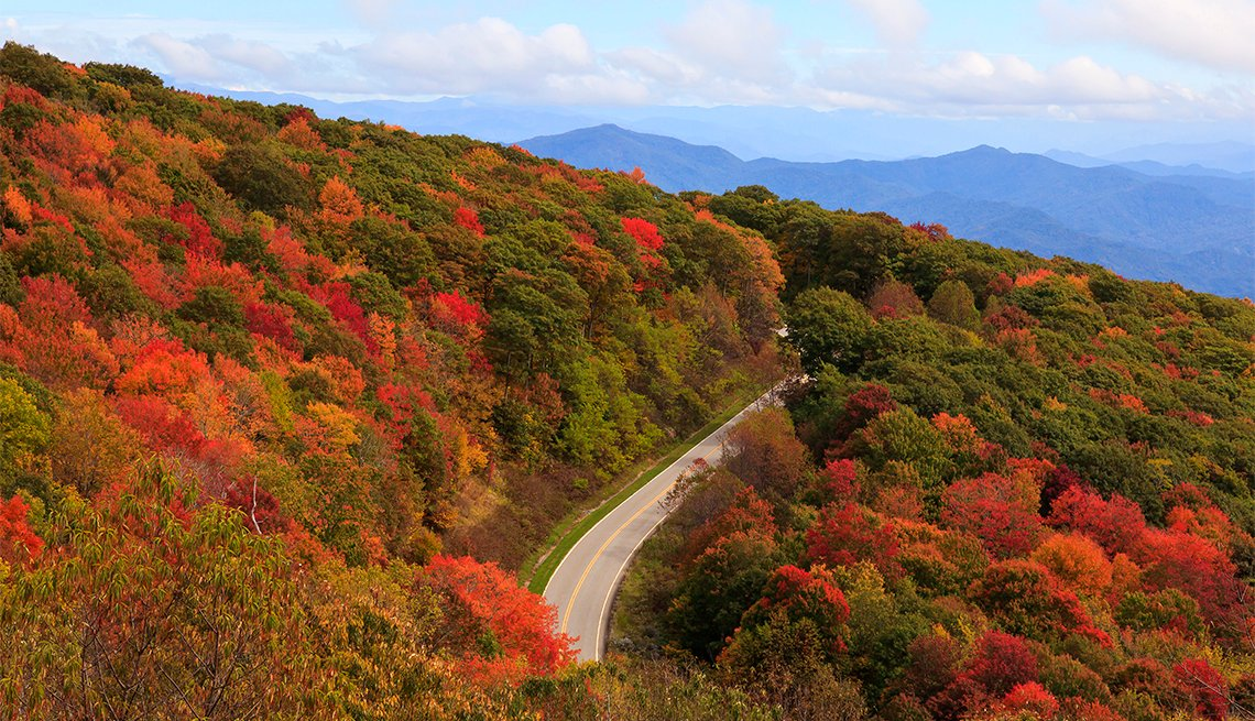 Part of the Cherohala Skyway, TN