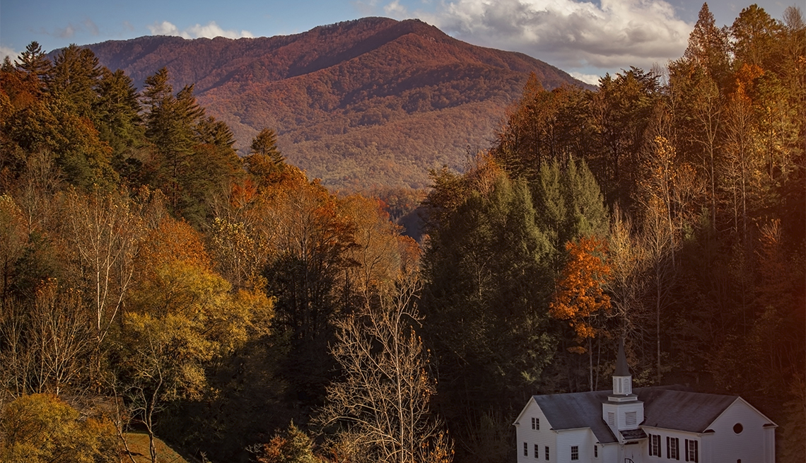 item 2 of Gallery image - Sevierville, TN in the fall